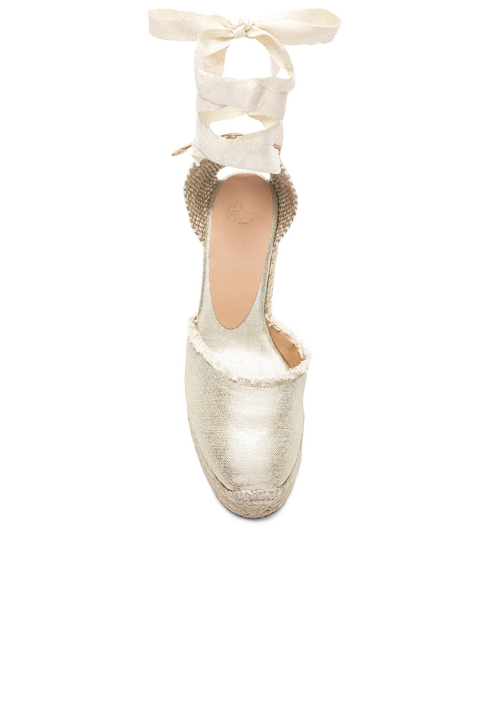 Image 4 of Castaner Canvas Canela Espadrilles in White