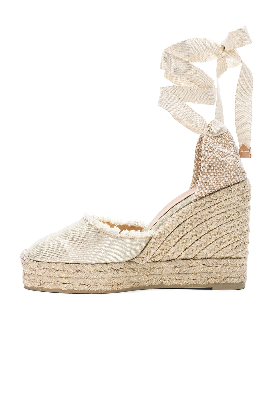 Image 5 of Castaner Canvas Canela Espadrilles in White
