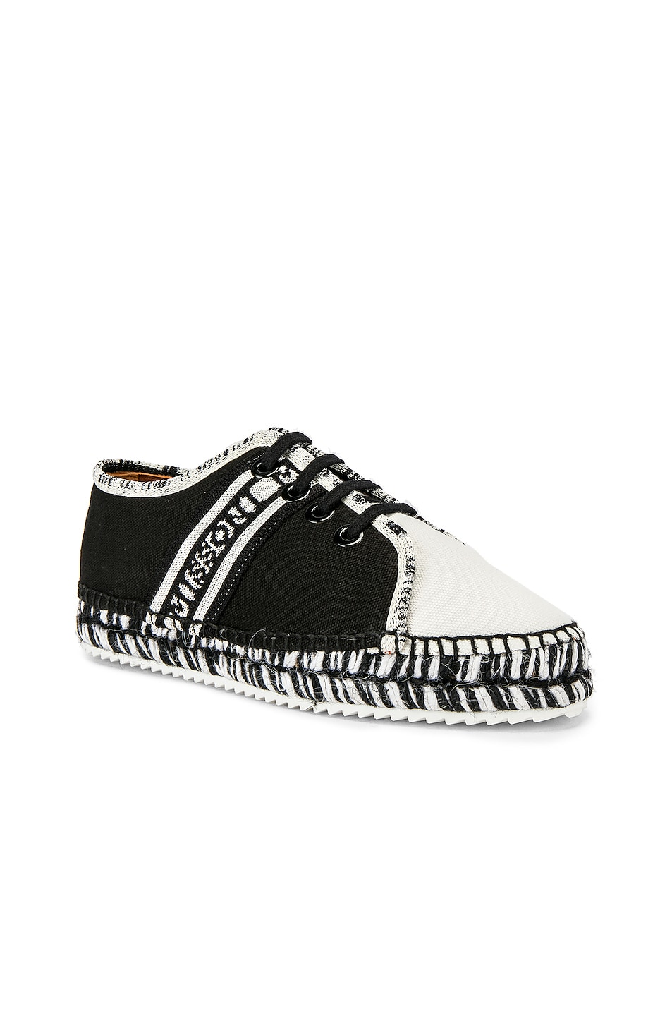 Image 2 of Castaner x MISSONI Kerri Sneaker in Black & White