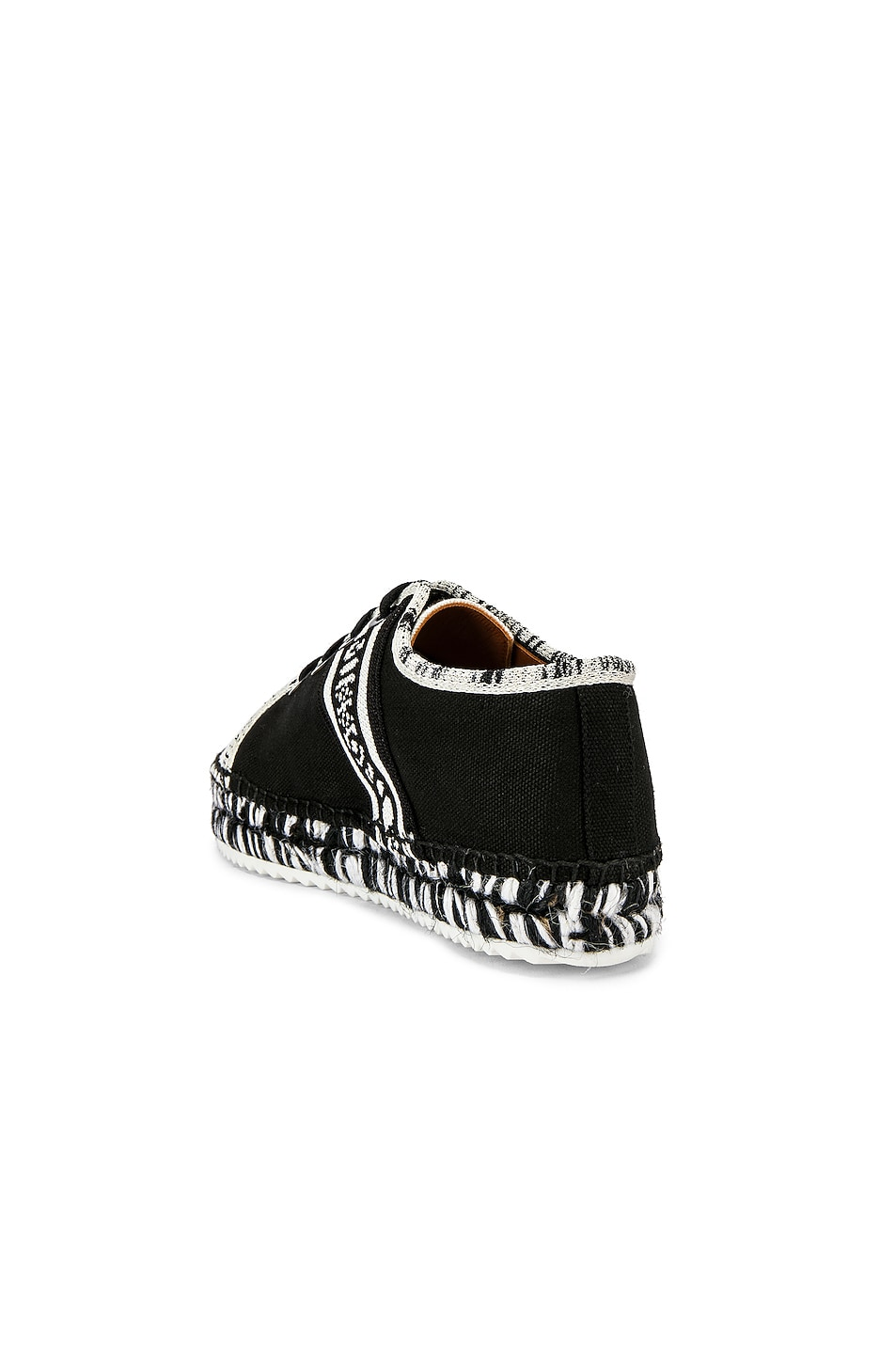 Image 3 of Castaner x MISSONI Kerri Sneaker in Black & White