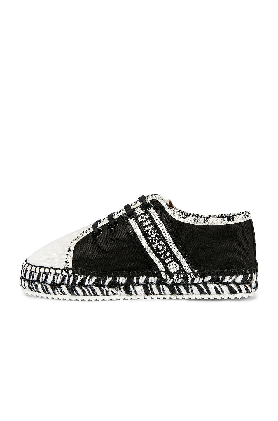 Image 5 of Castaner x MISSONI Kerri Sneaker in Black & White