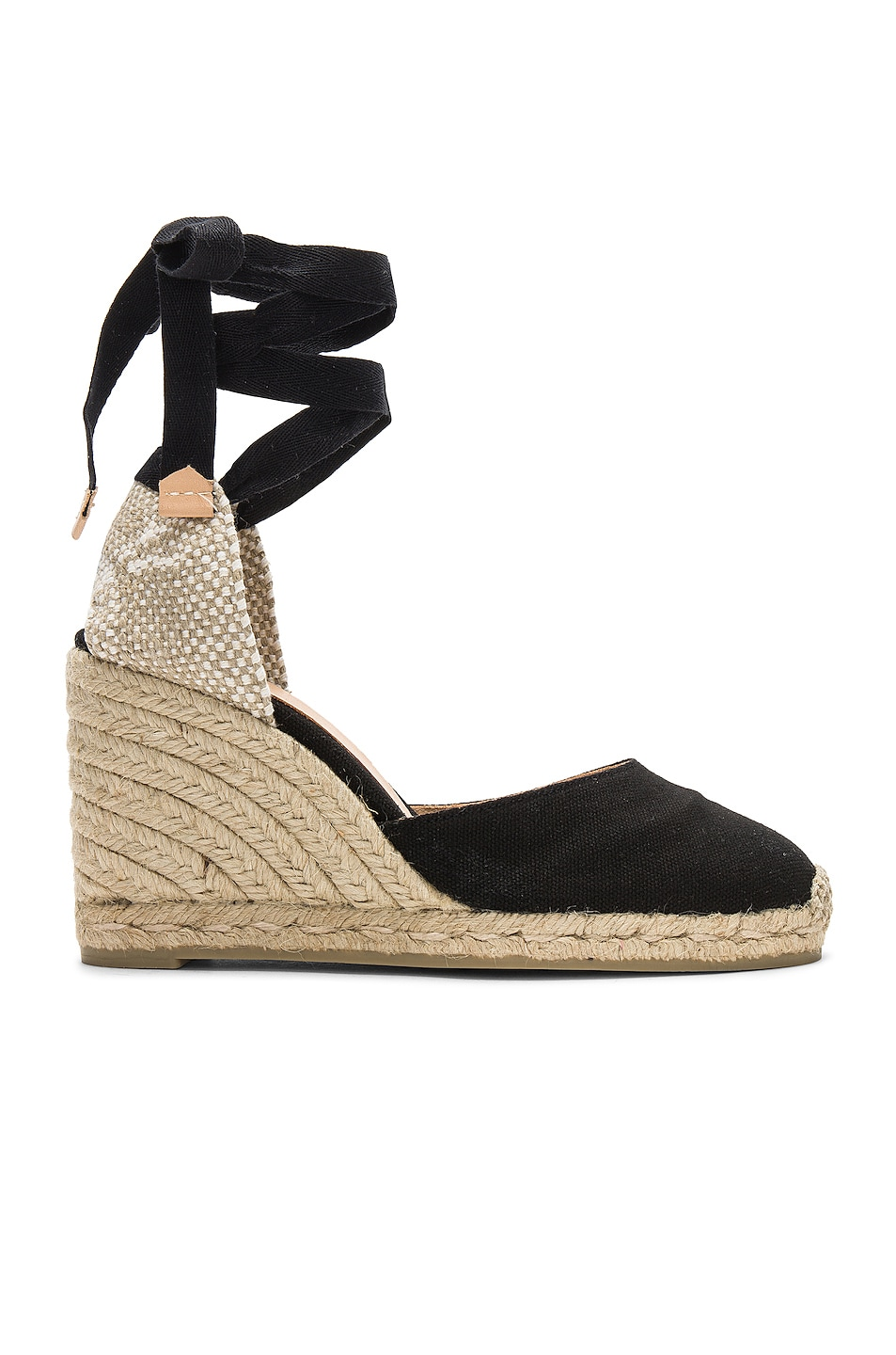Image 1 of Castaner Carina Espadrille in Black & Natural
