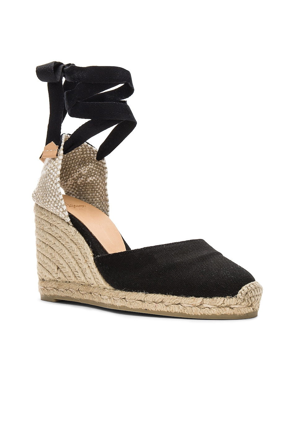 Image 2 of Castaner Carina Espadrille in Black & Natural