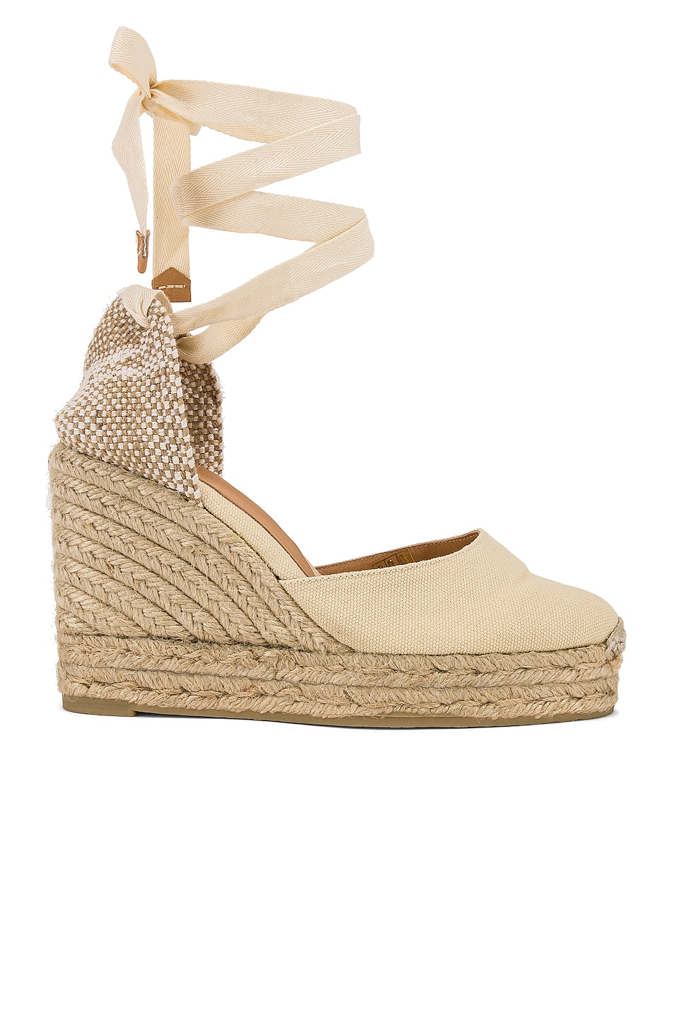 Image 1 of Castaner Carina Espadrille in Blanco & Natural