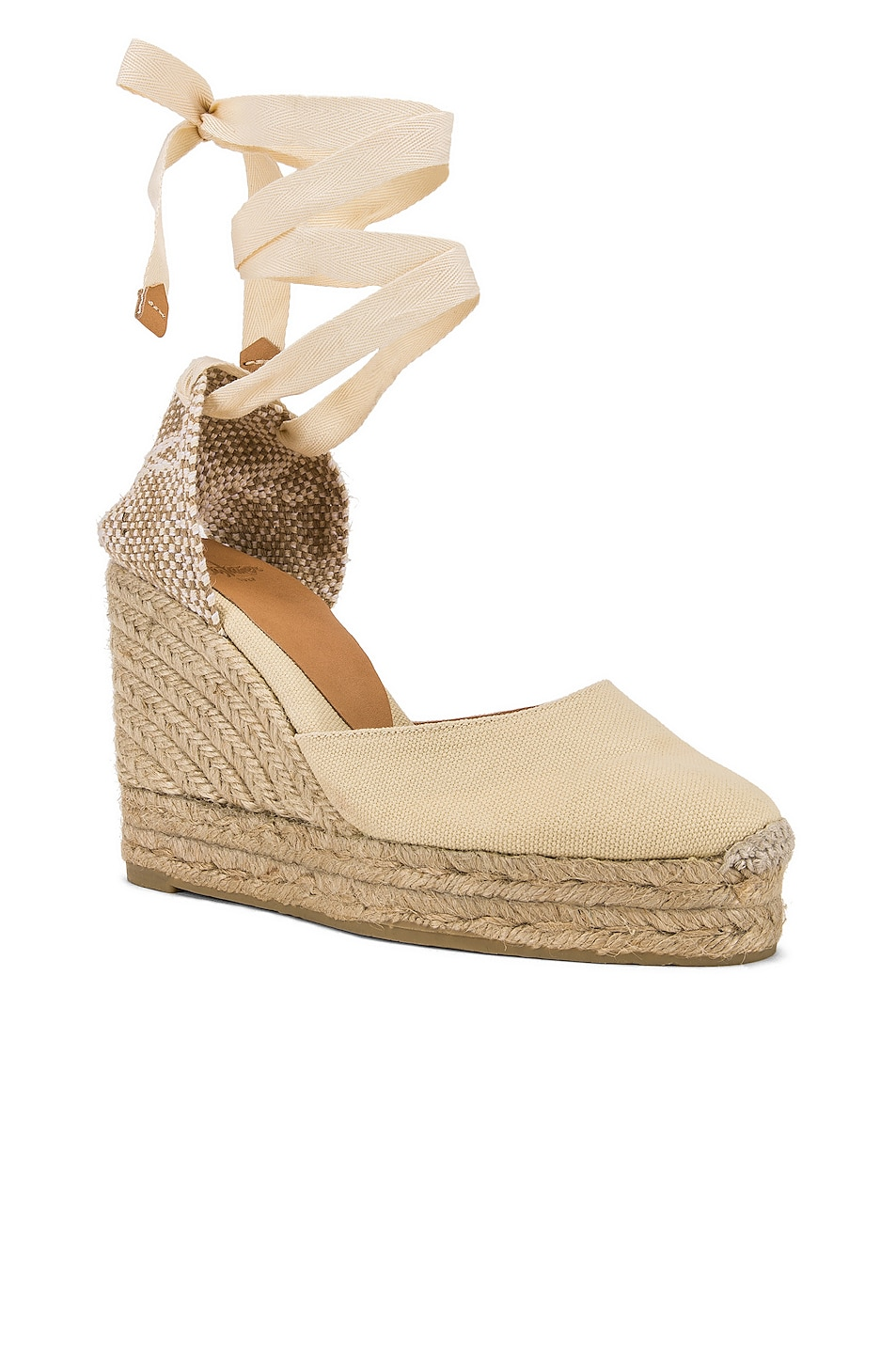 Image 2 of Castaner Carina Espadrille in Blanco & Natural