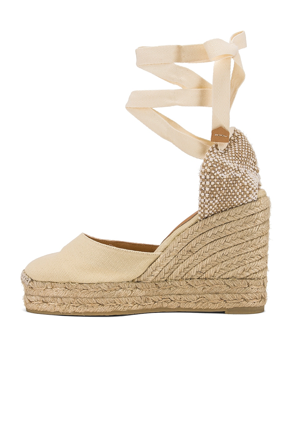 Image 5 of Castaner Carina Espadrille in Blanco & Natural