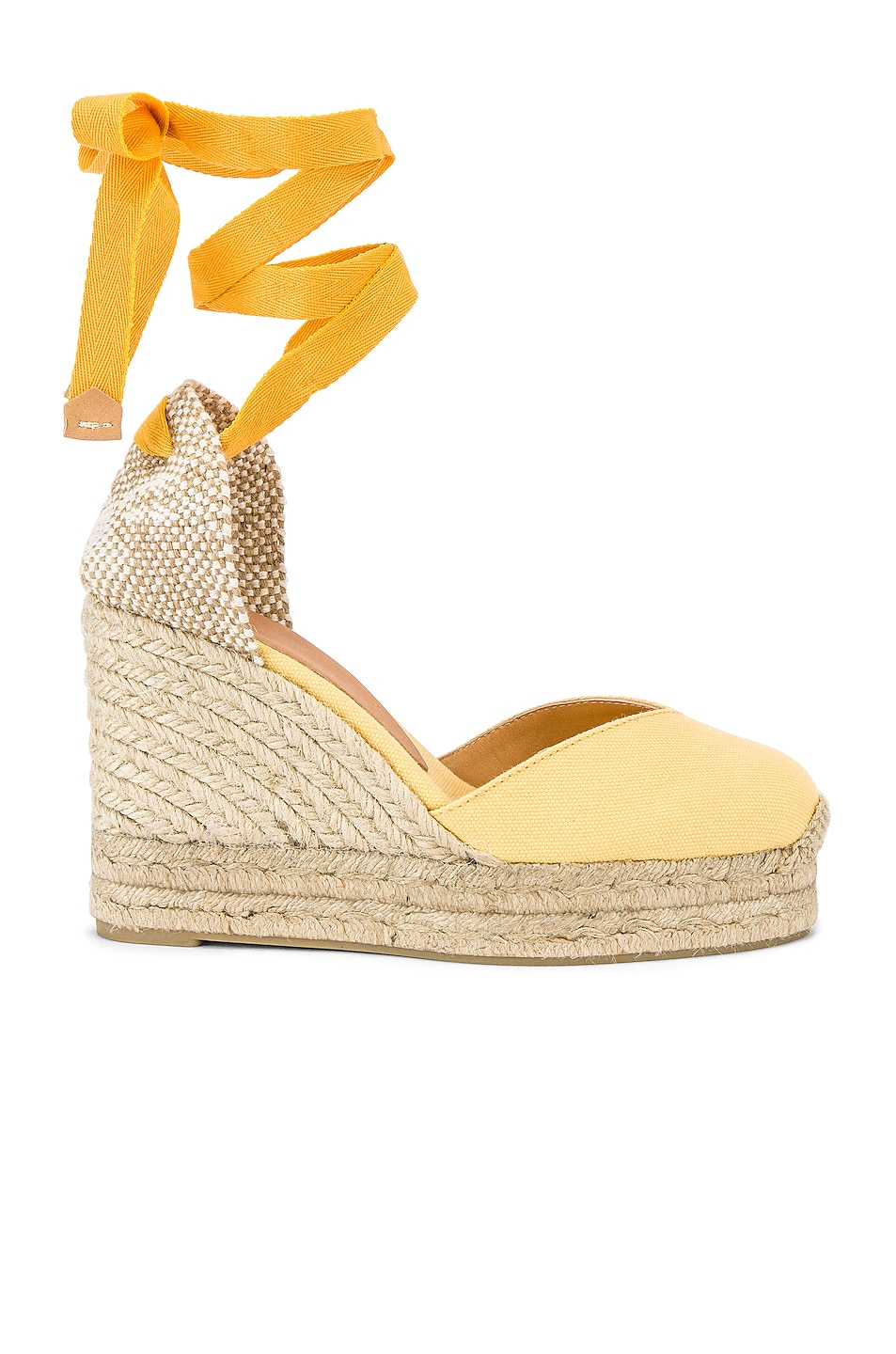 Image 1 of Castaner Chiara Espadrille in Yema & Natural