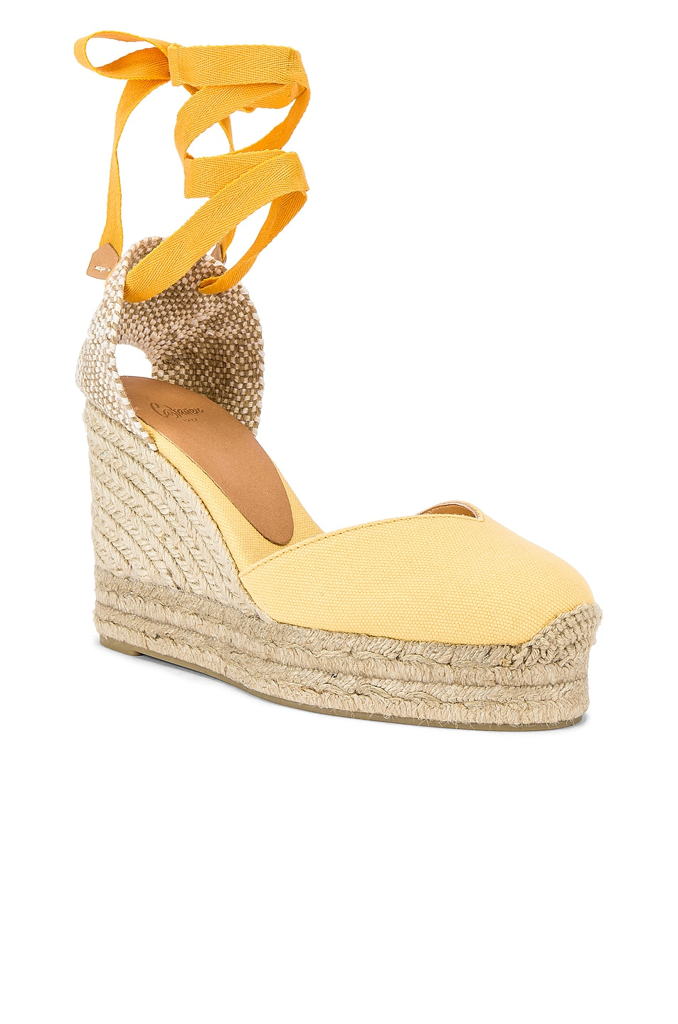 Image 2 of Castaner Chiara Espadrille in Yema & Natural