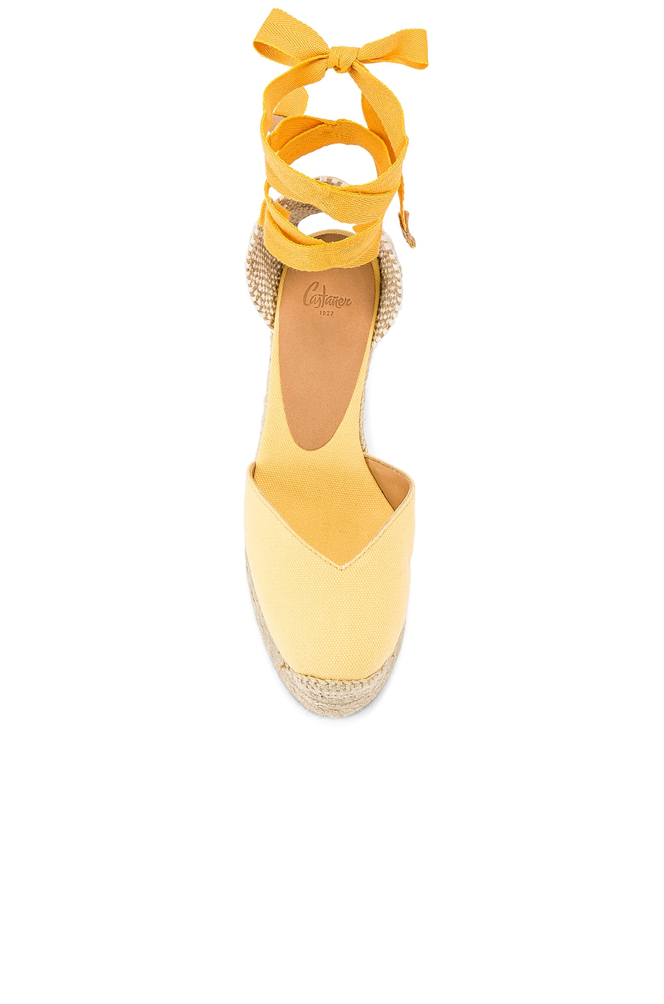 Image 4 of Castaner Chiara Espadrille in Yema & Natural