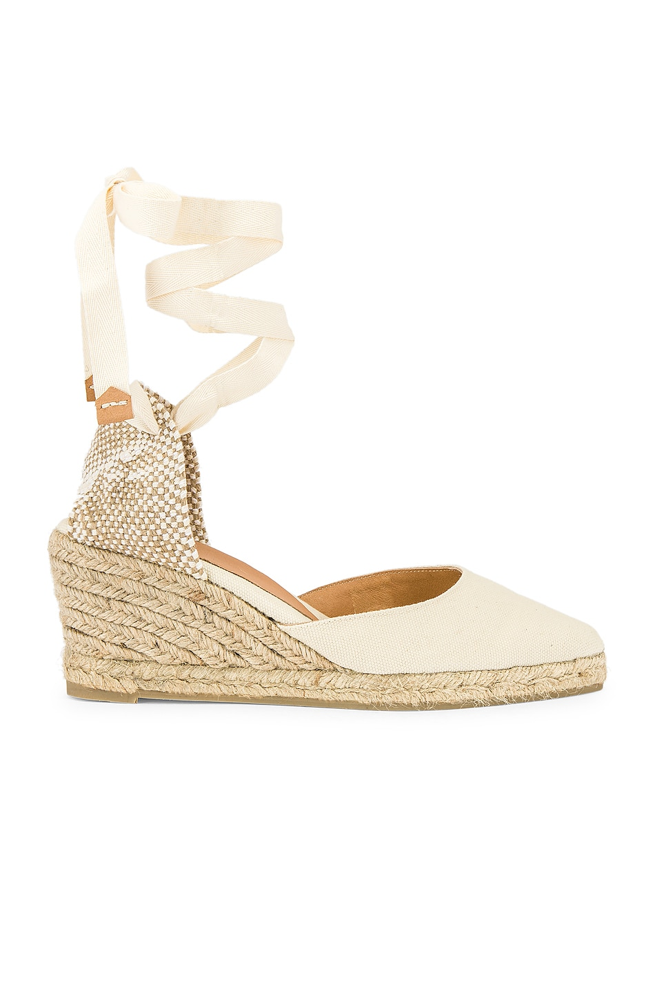 639242252c91 Image 1 of Castaner Joyce Espadrille in Ivory   Natural