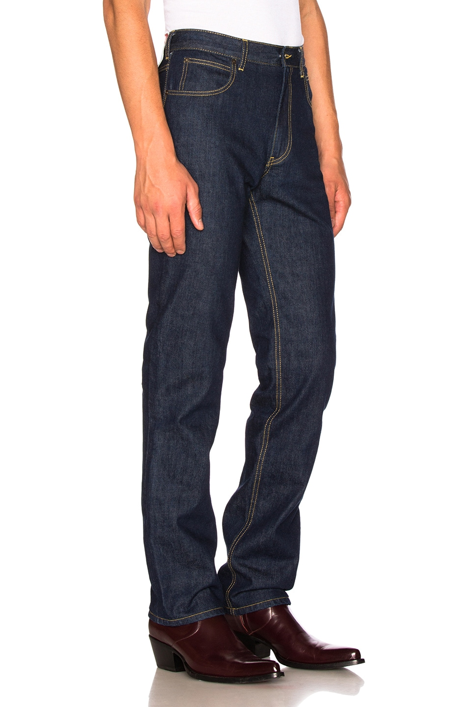 Wide-leg Denim Jeans CALVIN KLEIN 205W39NYC Discount Footaction Free Shipping 2018 New Clearance Big Discount Buy Cheap Cheapest Price ZXwT7zdkv