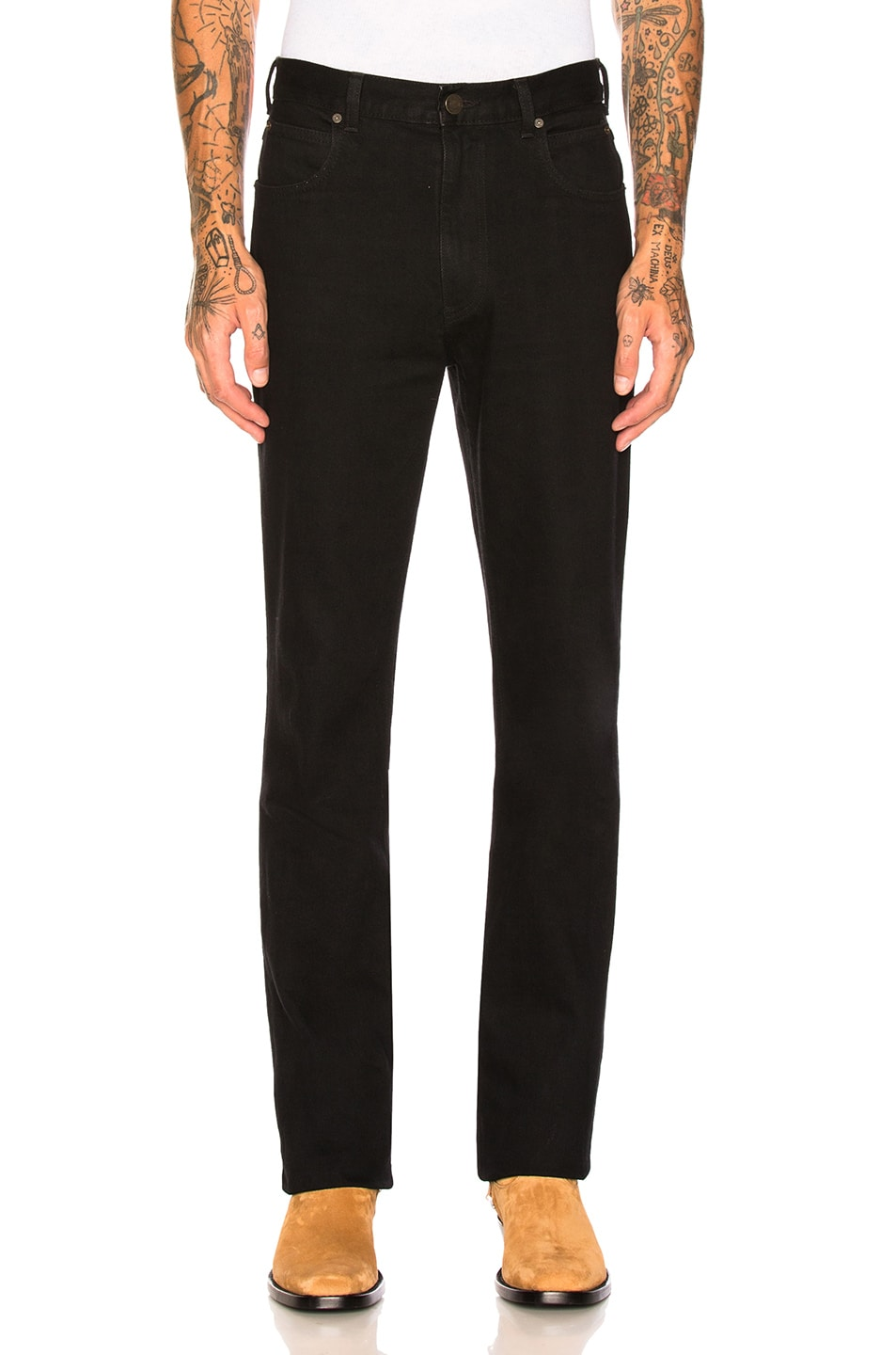 Image 1 of CALVIN KLEIN 205W39NYC Jeans in Black