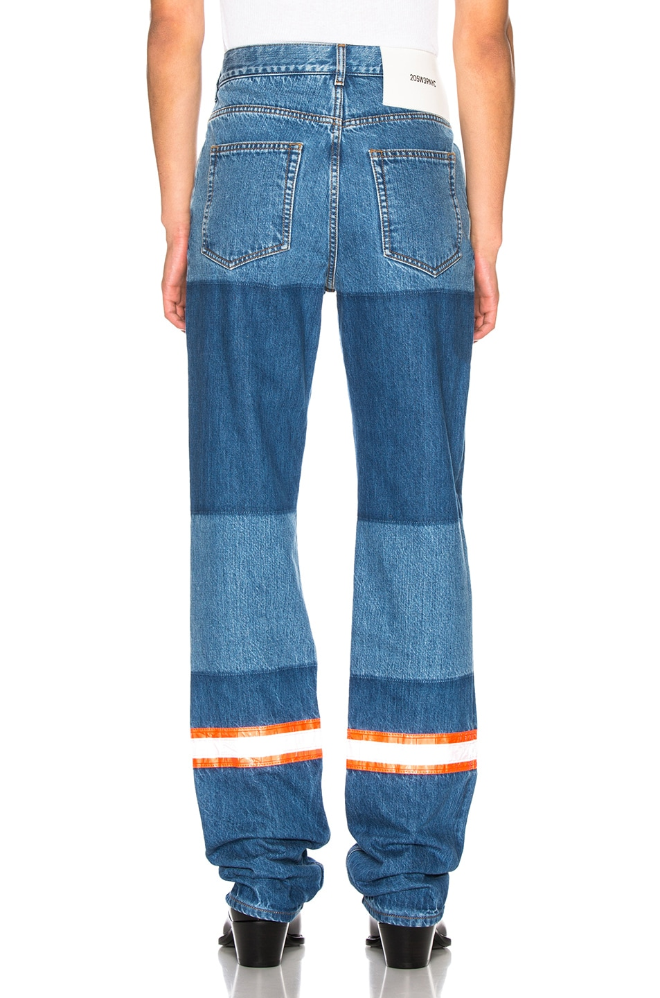 Image 3 of CALVIN KLEIN 205W39NYC Jeans in Blue