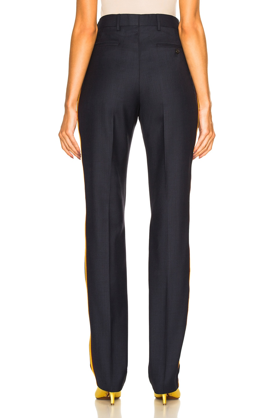 Image 4 of CALVIN KLEIN 205W39NYC Side Band Trousers in Marine Midnight