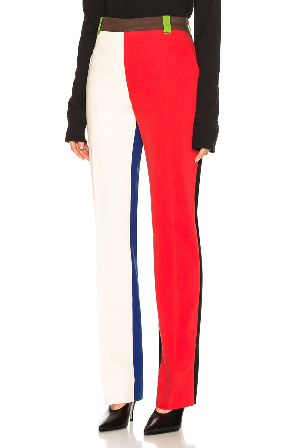 Image 1 of CALVIN KLEIN 205W39NYC Trousers in Scarlet Ecru
