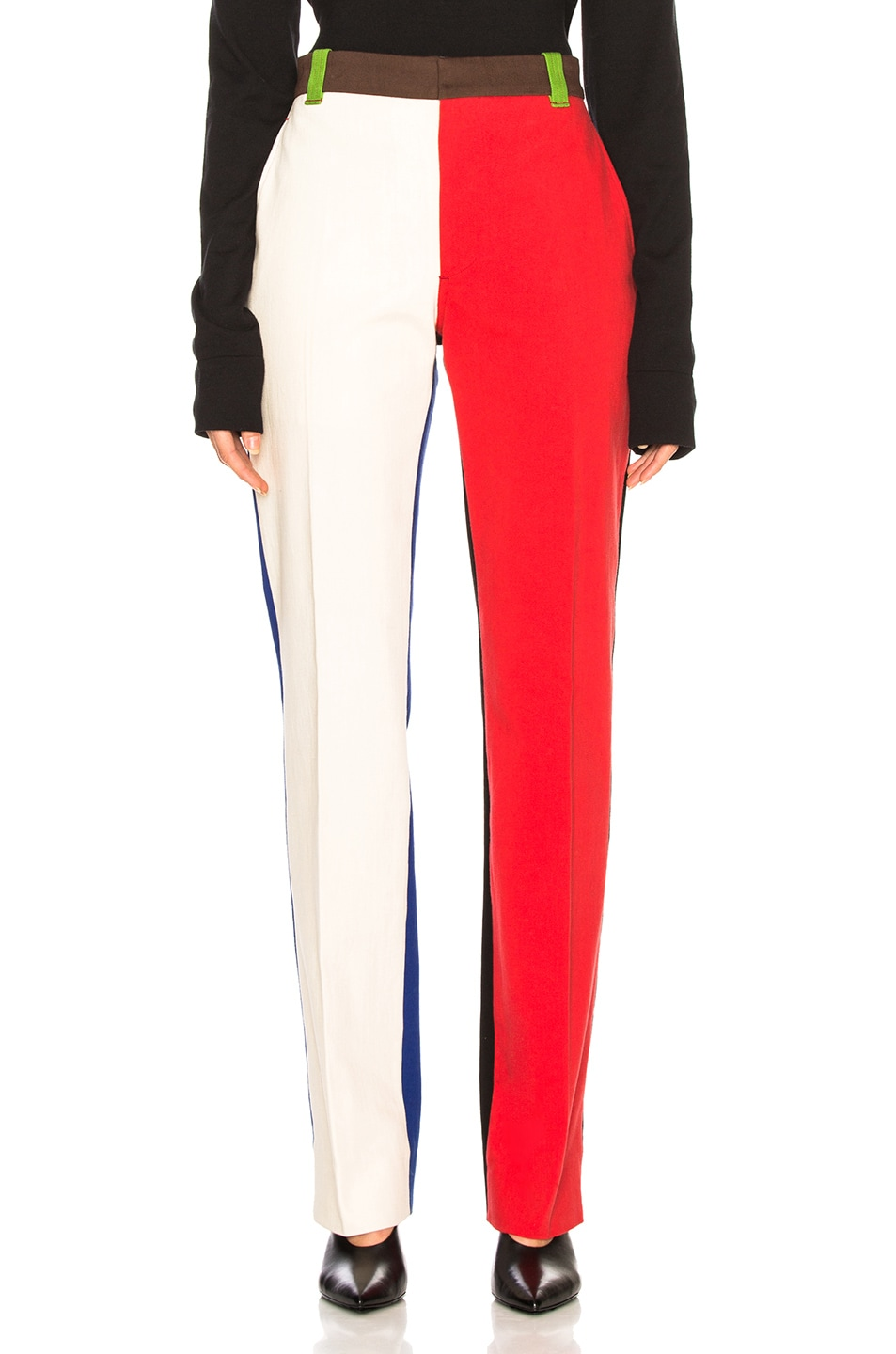 Image 2 of CALVIN KLEIN 205W39NYC Trousers in Scarlet Ecru