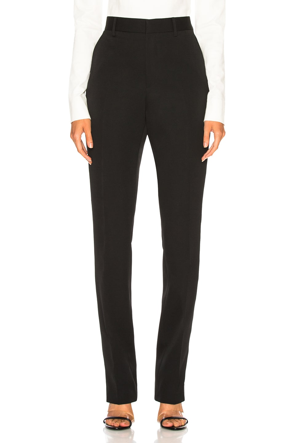 Image 2 of CALVIN KLEIN 205W39NYC Side Band Trousers in Black