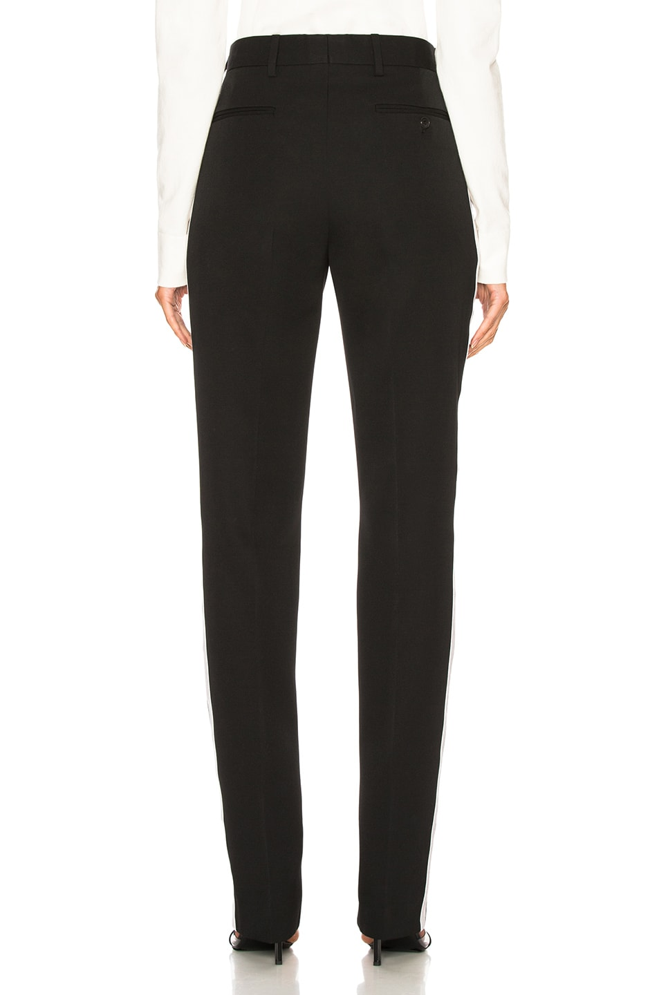 Image 4 of CALVIN KLEIN 205W39NYC Side Band Trousers in Black