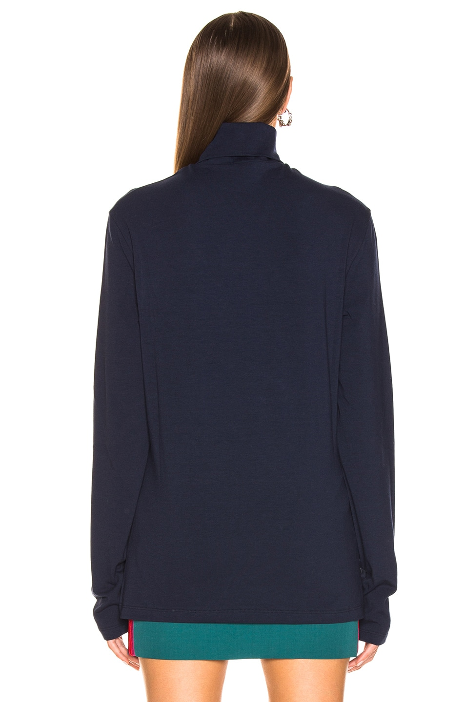 Image 3 of CALVIN KLEIN 205W39NYC Stretch Jersey in Marine