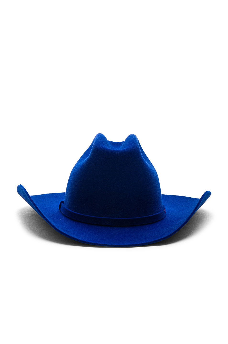 Image 1 of CALVIN KLEIN 205W39NYC Cowboy Hat in Electric Blue
