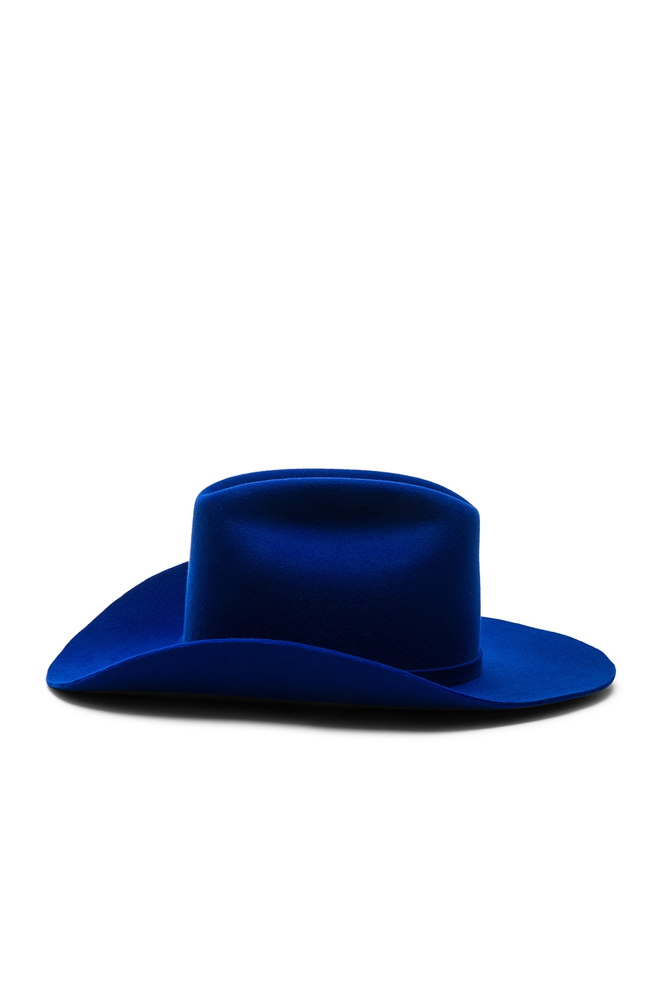 e5b304d586ceff Image 3 of CALVIN KLEIN 205W39NYC Cowboy Hat in Electric Blue