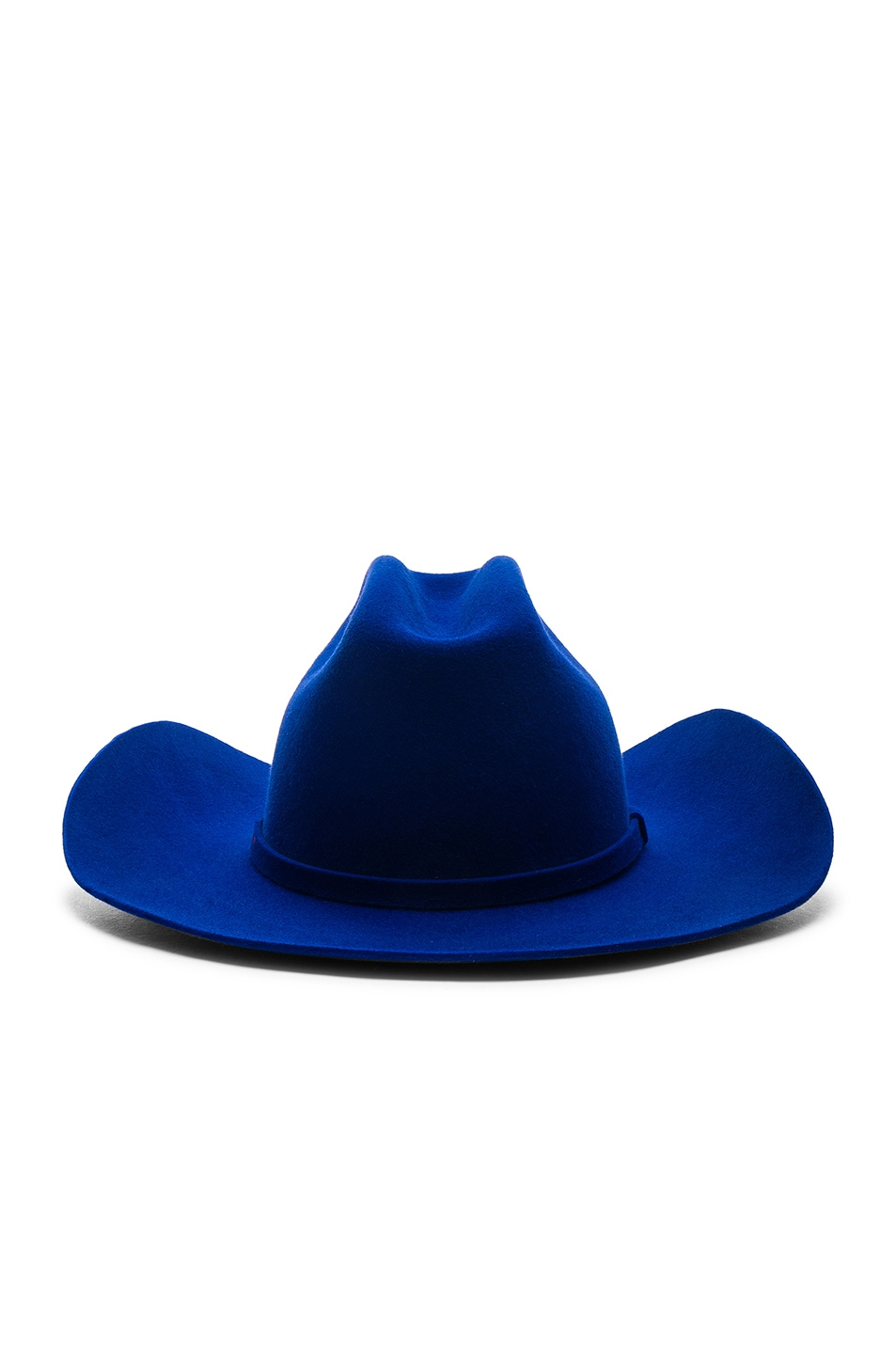 Image 4 of CALVIN KLEIN 205W39NYC Cowboy Hat in Electric Blue