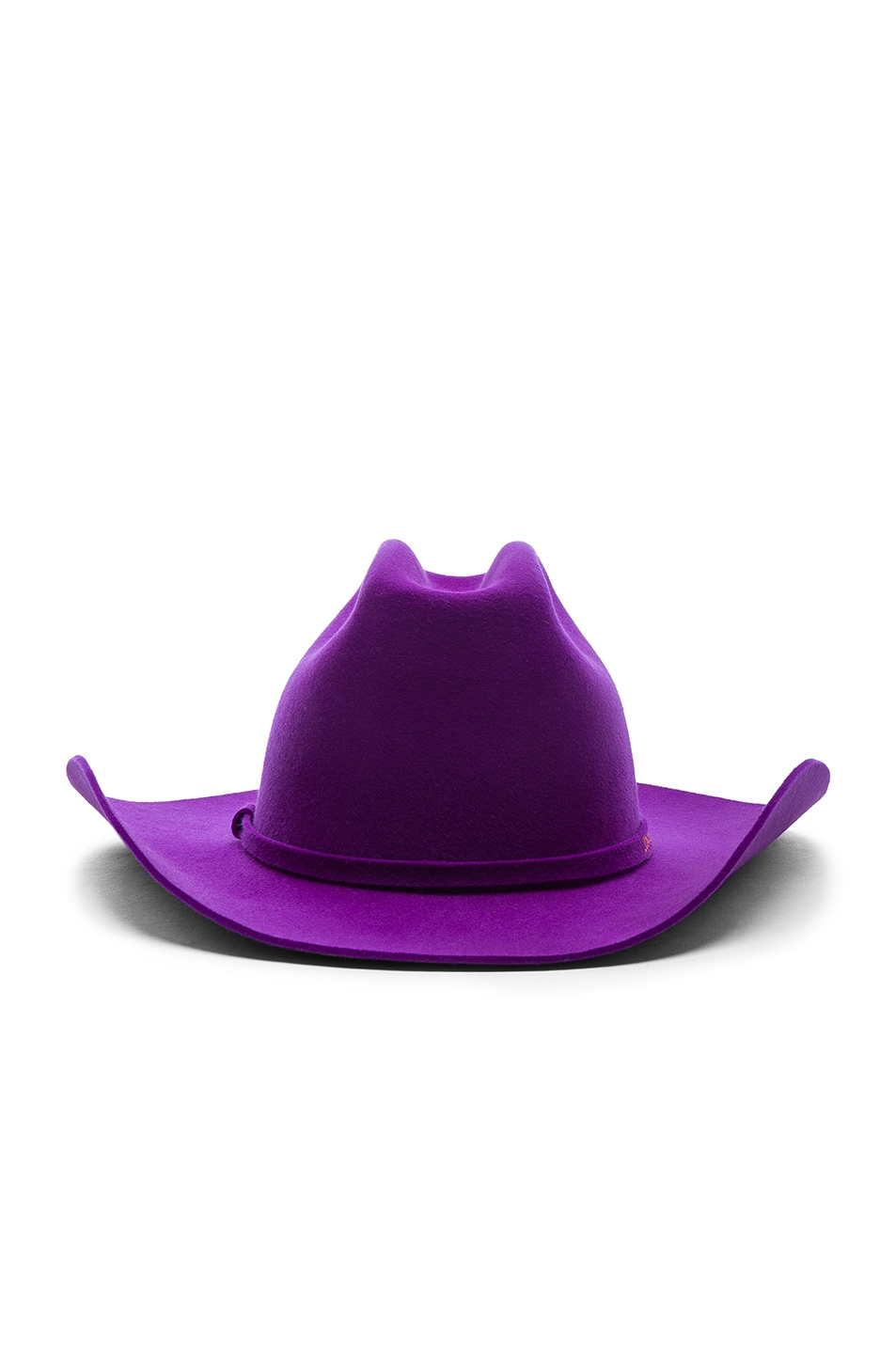Image 1 of CALVIN KLEIN 205W39NYC Cowboy Hat in Ultra Violet