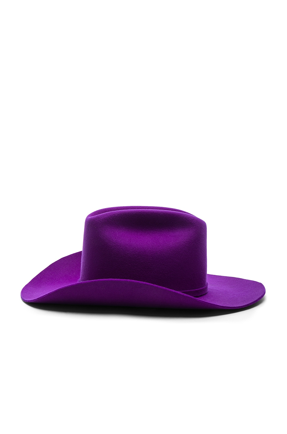 Image 3 of CALVIN KLEIN 205W39NYC Cowboy Hat in Ultra Violet