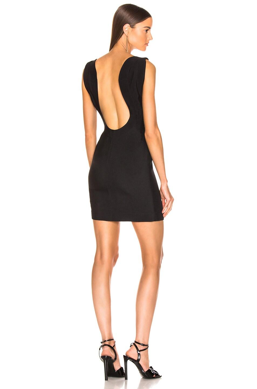 Image 1 of CALVIN KLEIN 205W39NYC Sleeveless Mini Dress in Black