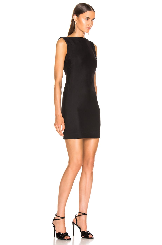 Image 3 of CALVIN KLEIN 205W39NYC Sleeveless Mini Dress in Black