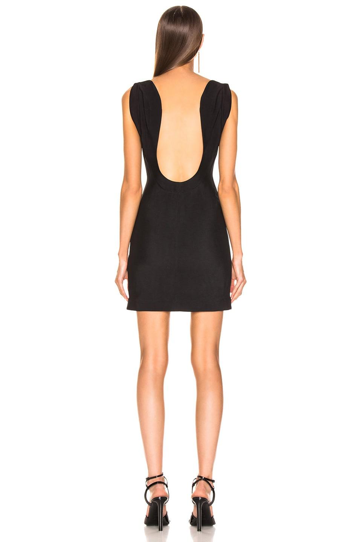 Image 4 of CALVIN KLEIN 205W39NYC Sleeveless Mini Dress in Black