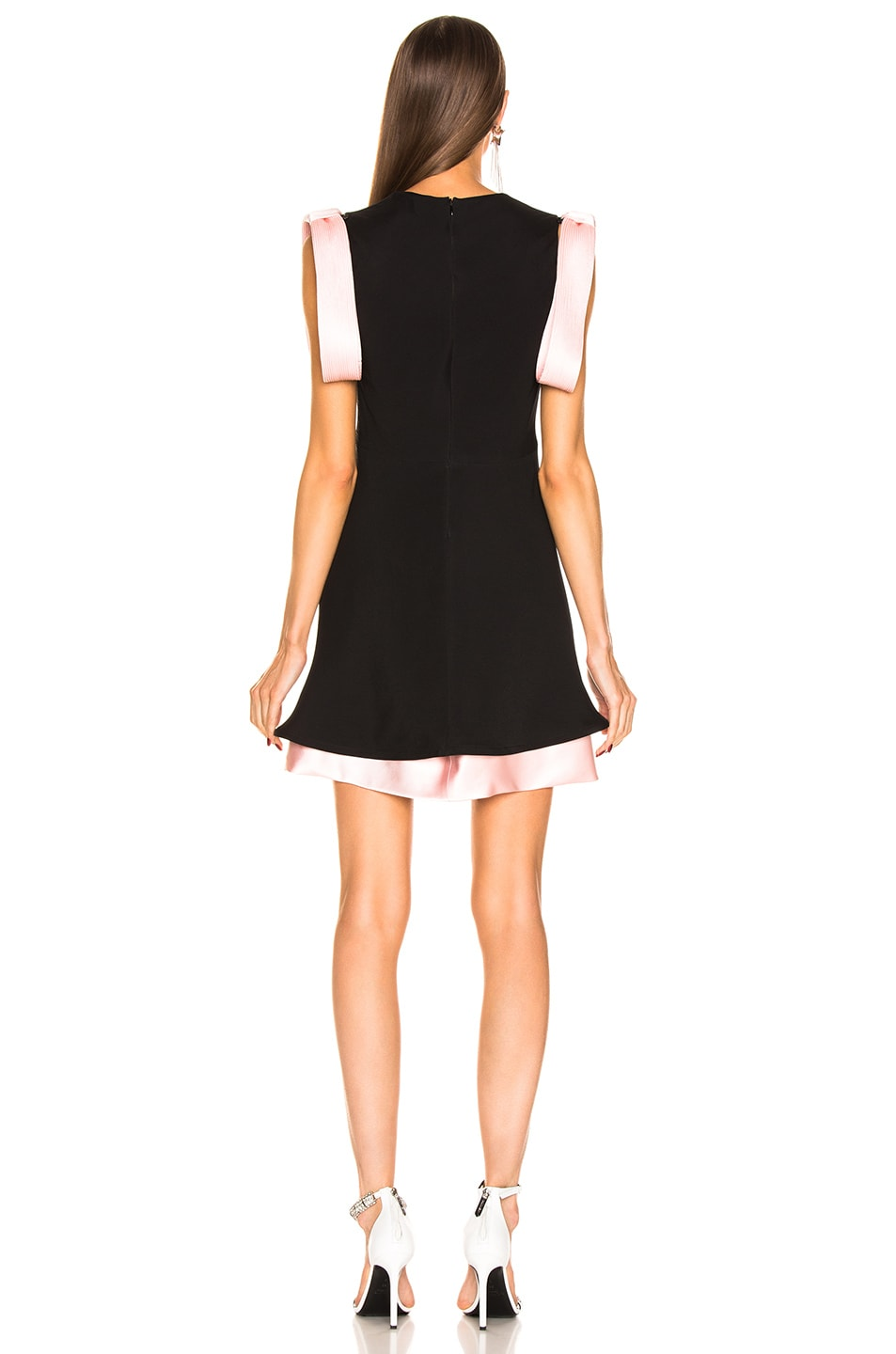 Image 3 of CALVIN KLEIN 205W39NYC Two Tone Dress in Black Pink