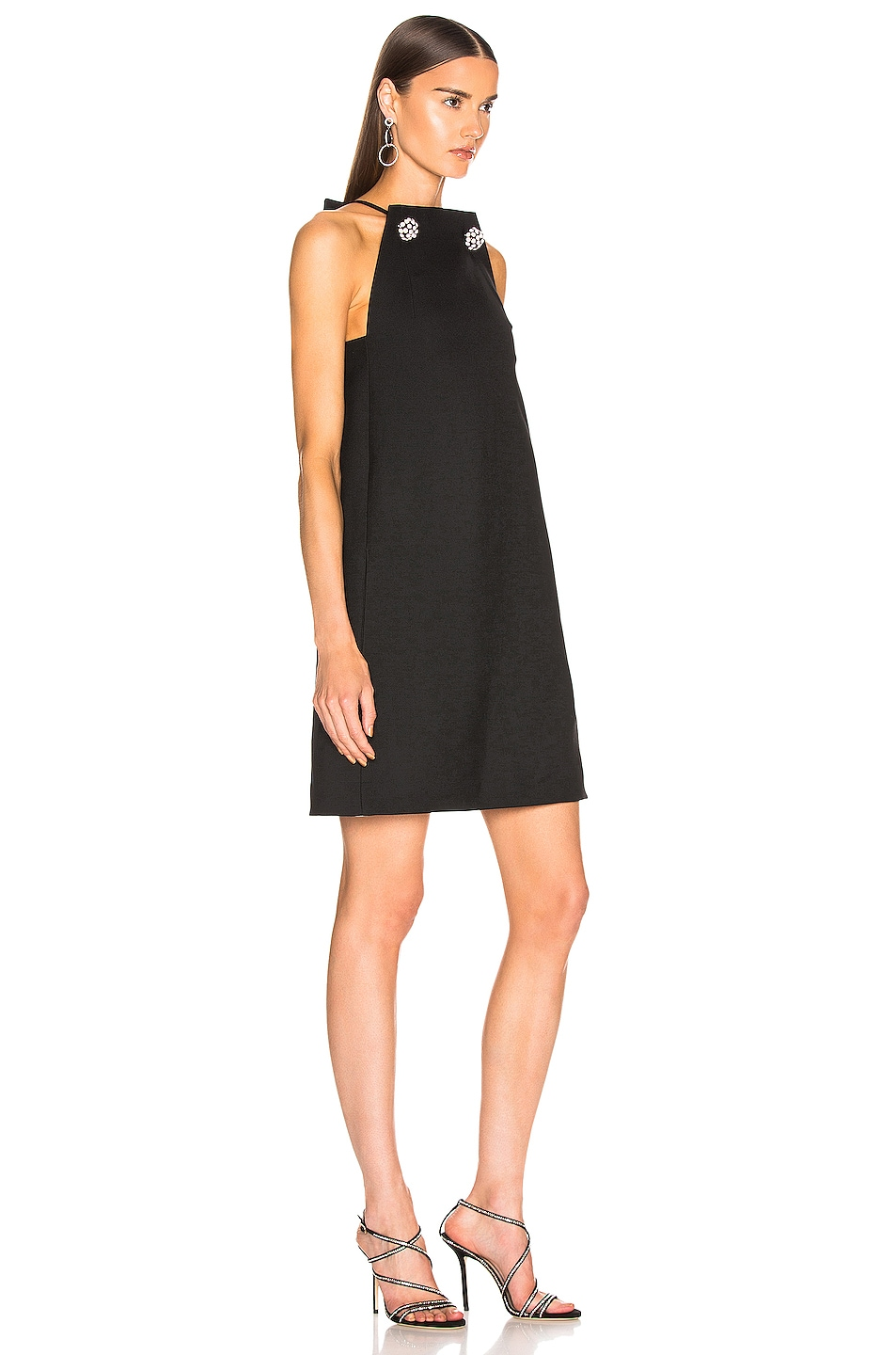 Image 2 of CALVIN KLEIN 205W39NYC Embellished Dress in Black