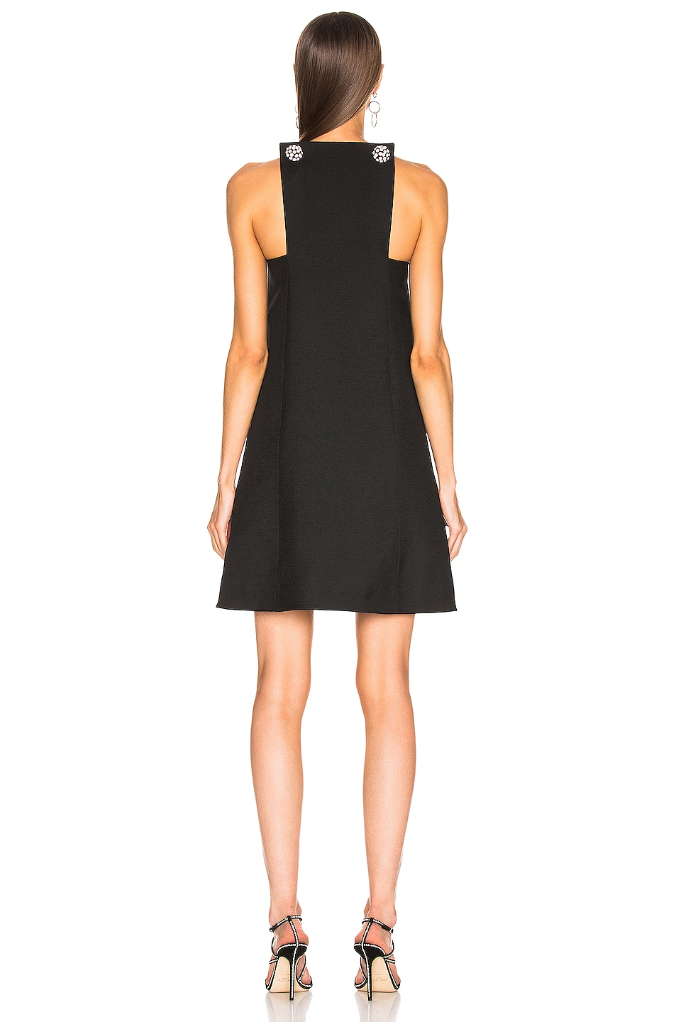 Image 3 of CALVIN KLEIN 205W39NYC Embellished Dress in Black