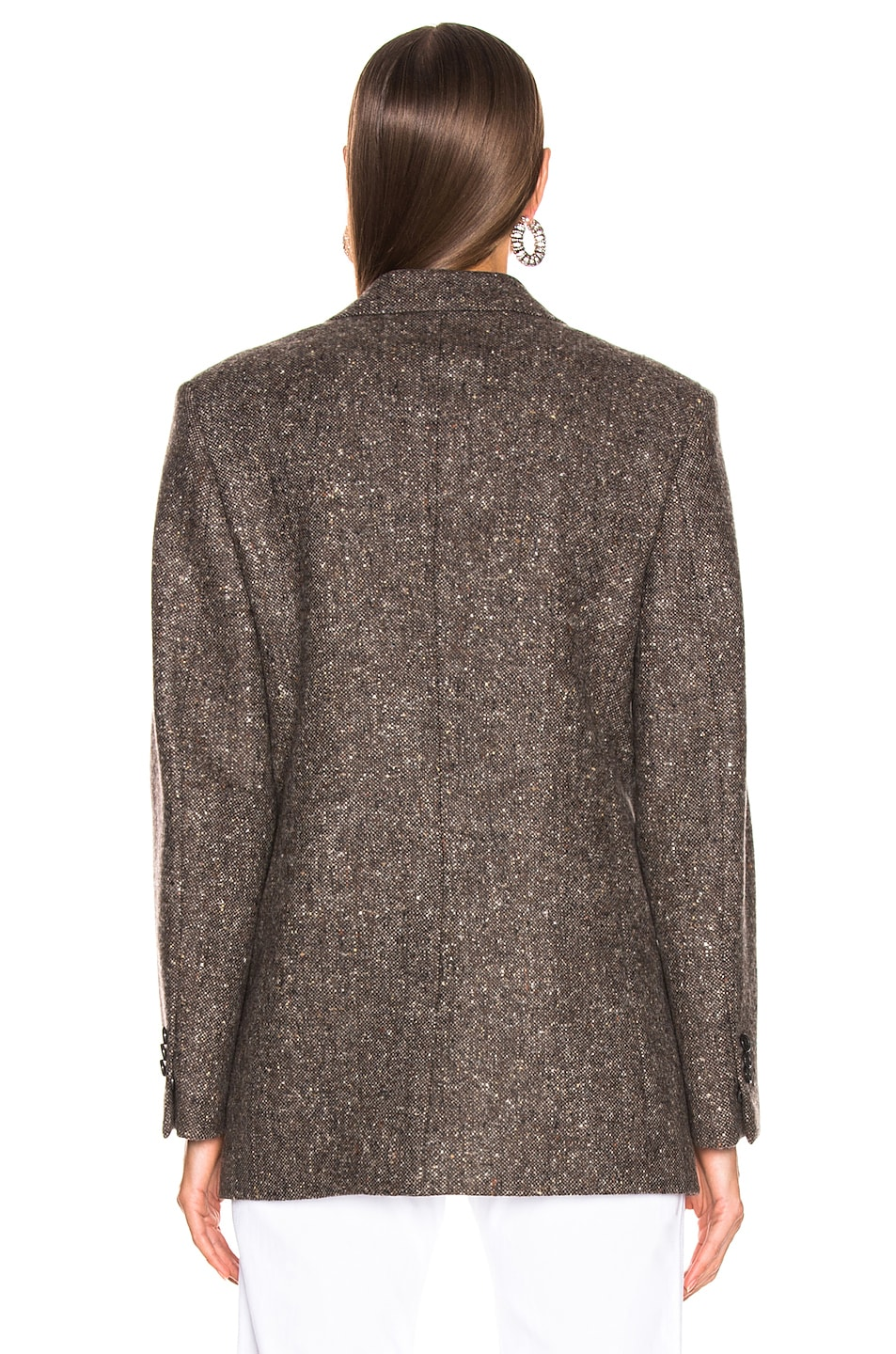 Image 4 of CALVIN KLEIN 205W39NYC Tailored Blazer in Sepia Grey Black