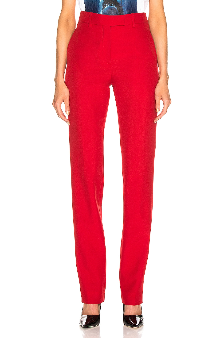 Image 1 of CALVIN KLEIN 205W39NYC Tailored Pant in Grenadine