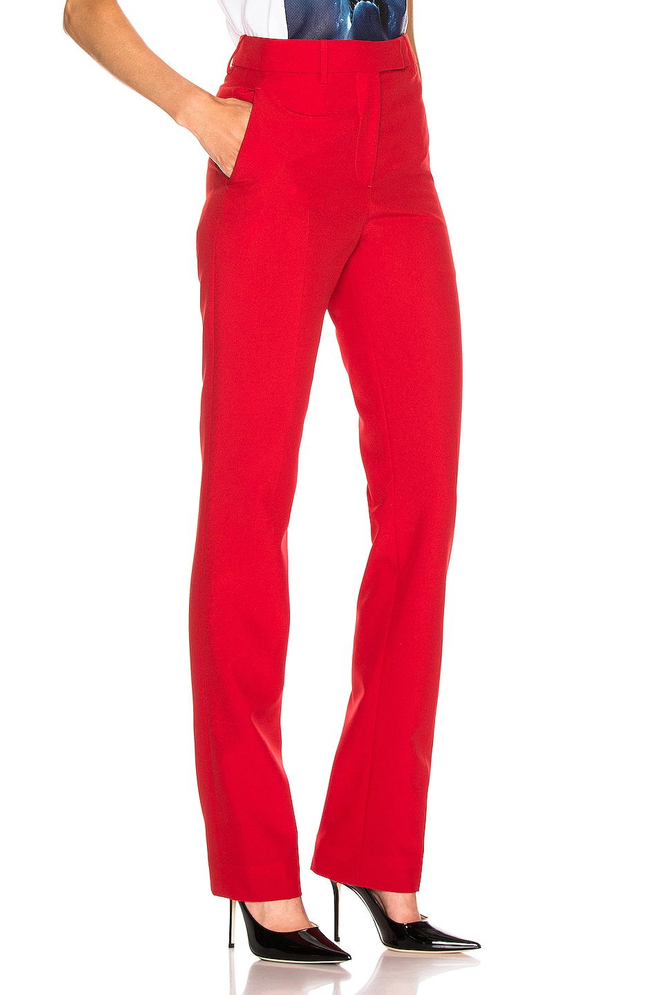 Image 2 of CALVIN KLEIN 205W39NYC Tailored Pant in Grenadine