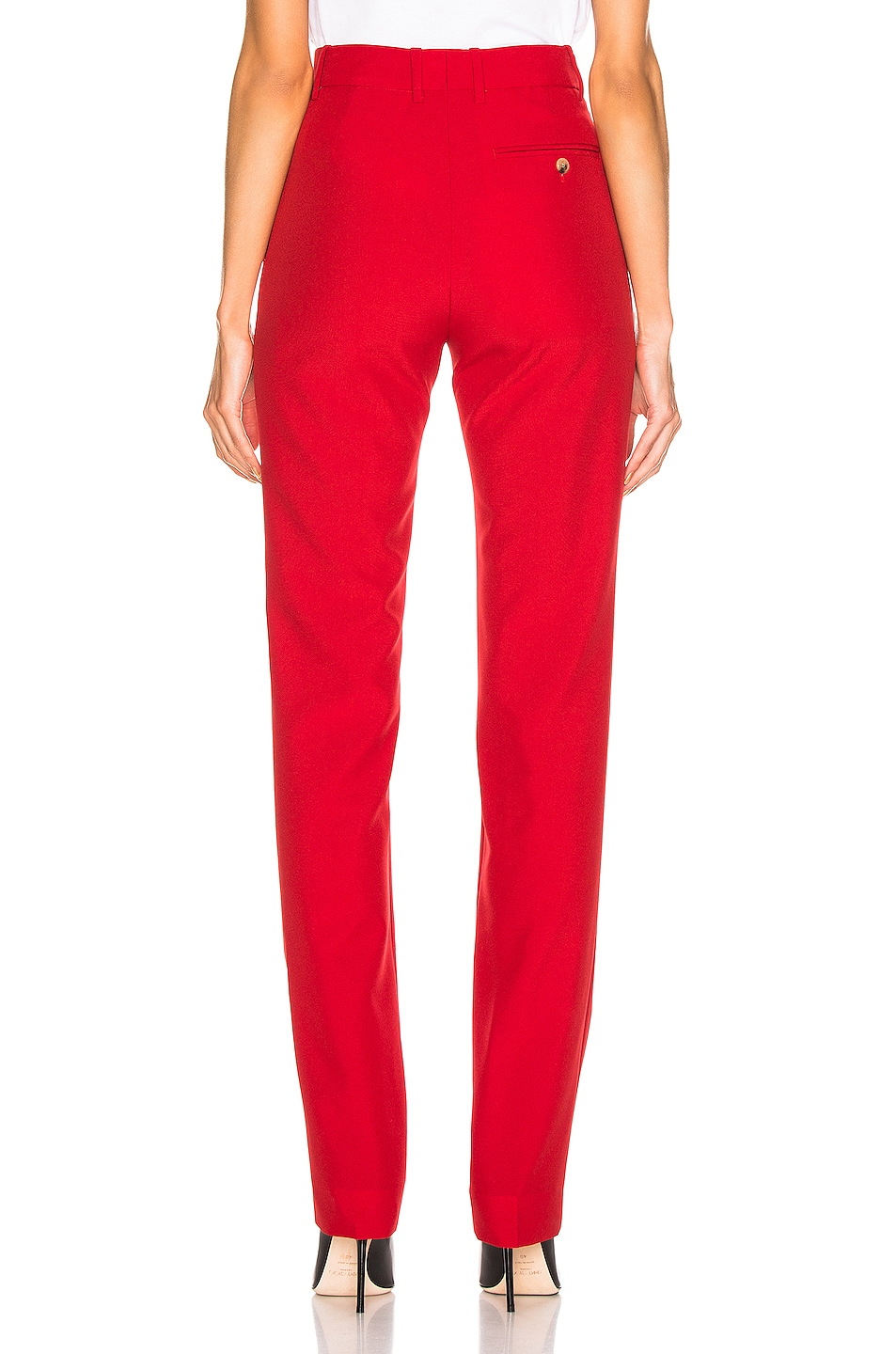 Image 3 of CALVIN KLEIN 205W39NYC Tailored Pant in Grenadine
