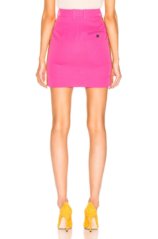 Image 4 of CALVIN KLEIN 205W39NYC Stripe Skirt in Petunia