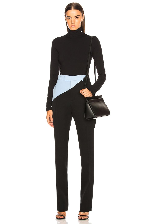 Image 6 of CALVIN KLEIN 205W39NYC Turtleneck Bodysuit in Black