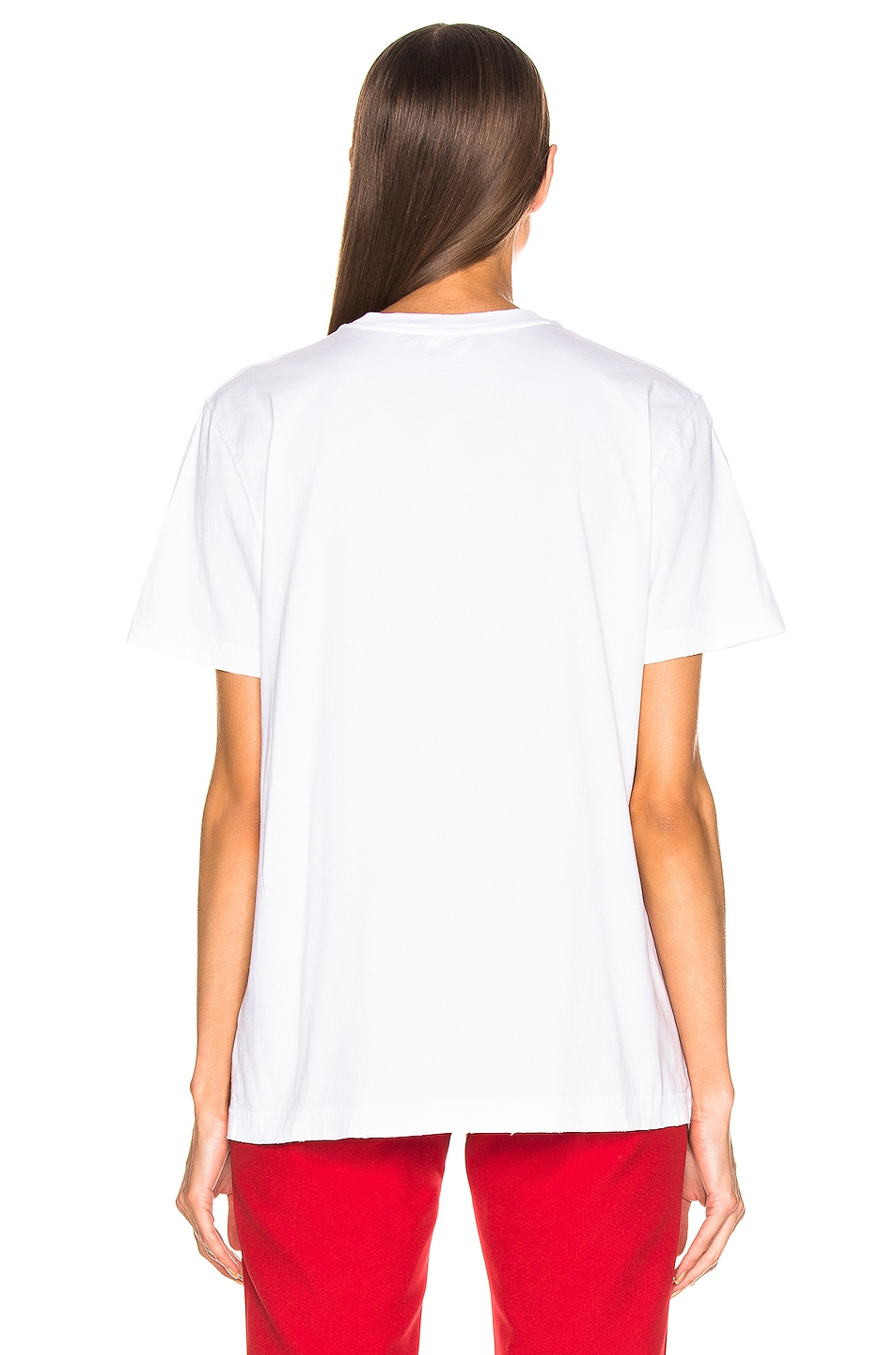 Image 3 of CALVIN KLEIN 205W39NYC Jaws Tee Shirt in Optic White