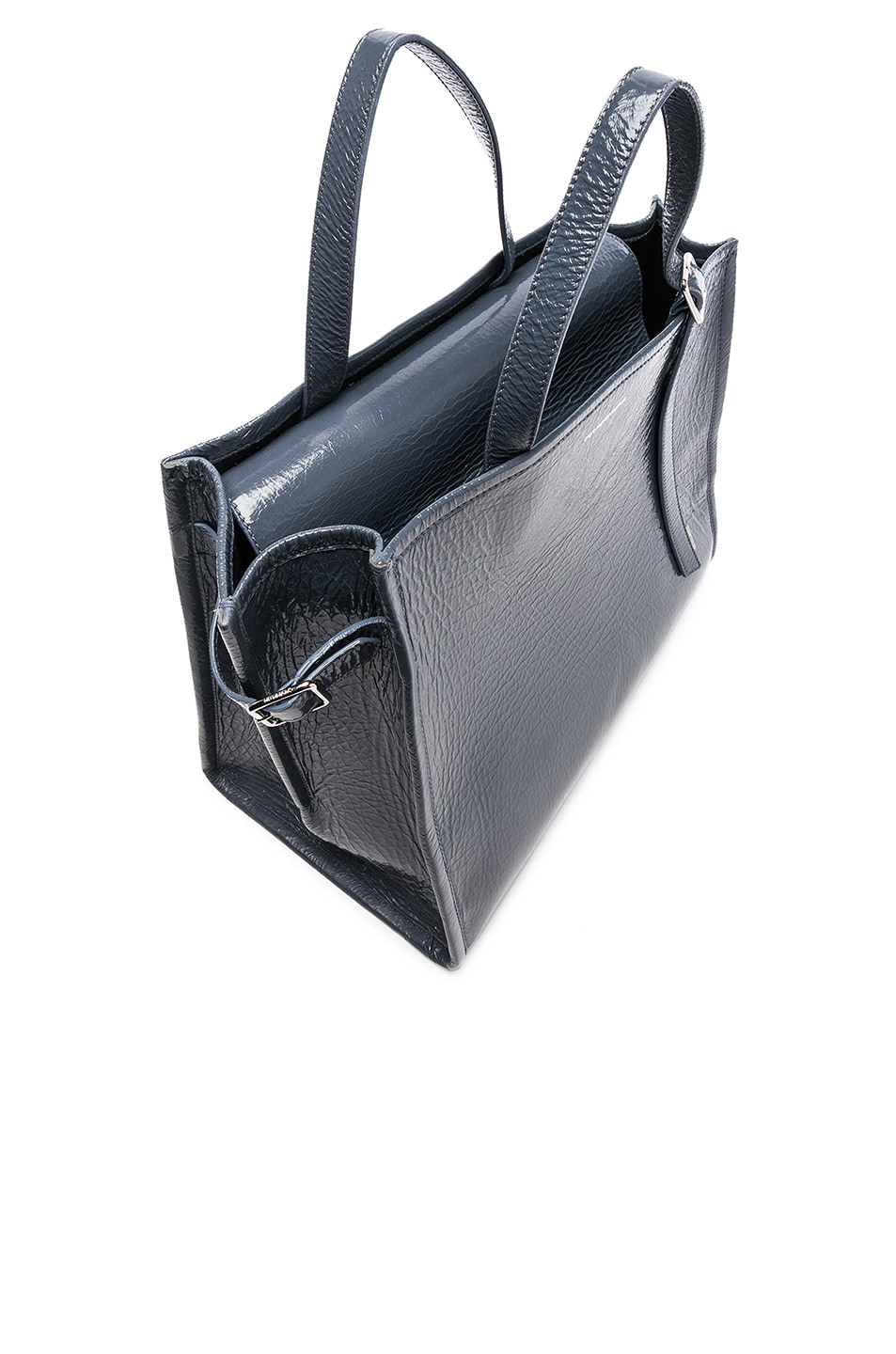 Image 5 of CALVIN KLEIN 205W39NYC East West Side Strap Tote in Blue Grey