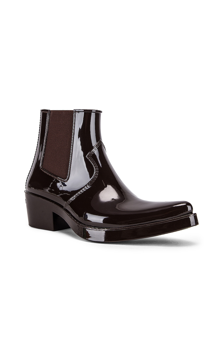 Image 2 of CALVIN KLEIN 205W39NYC Carol Boot in Brown
