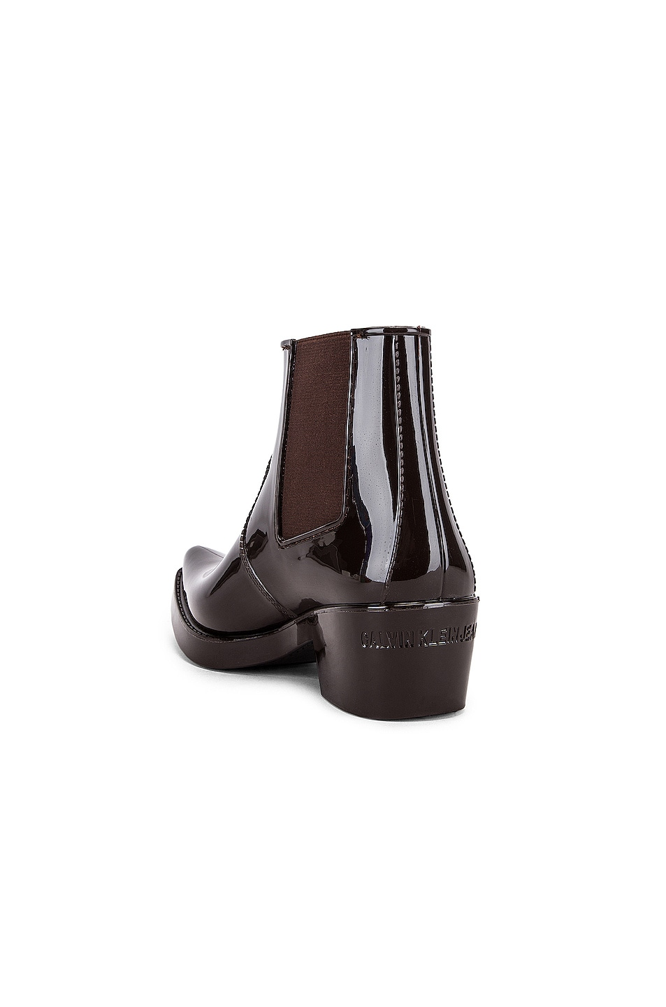 Image 3 of CALVIN KLEIN 205W39NYC Carol Boot in Brown