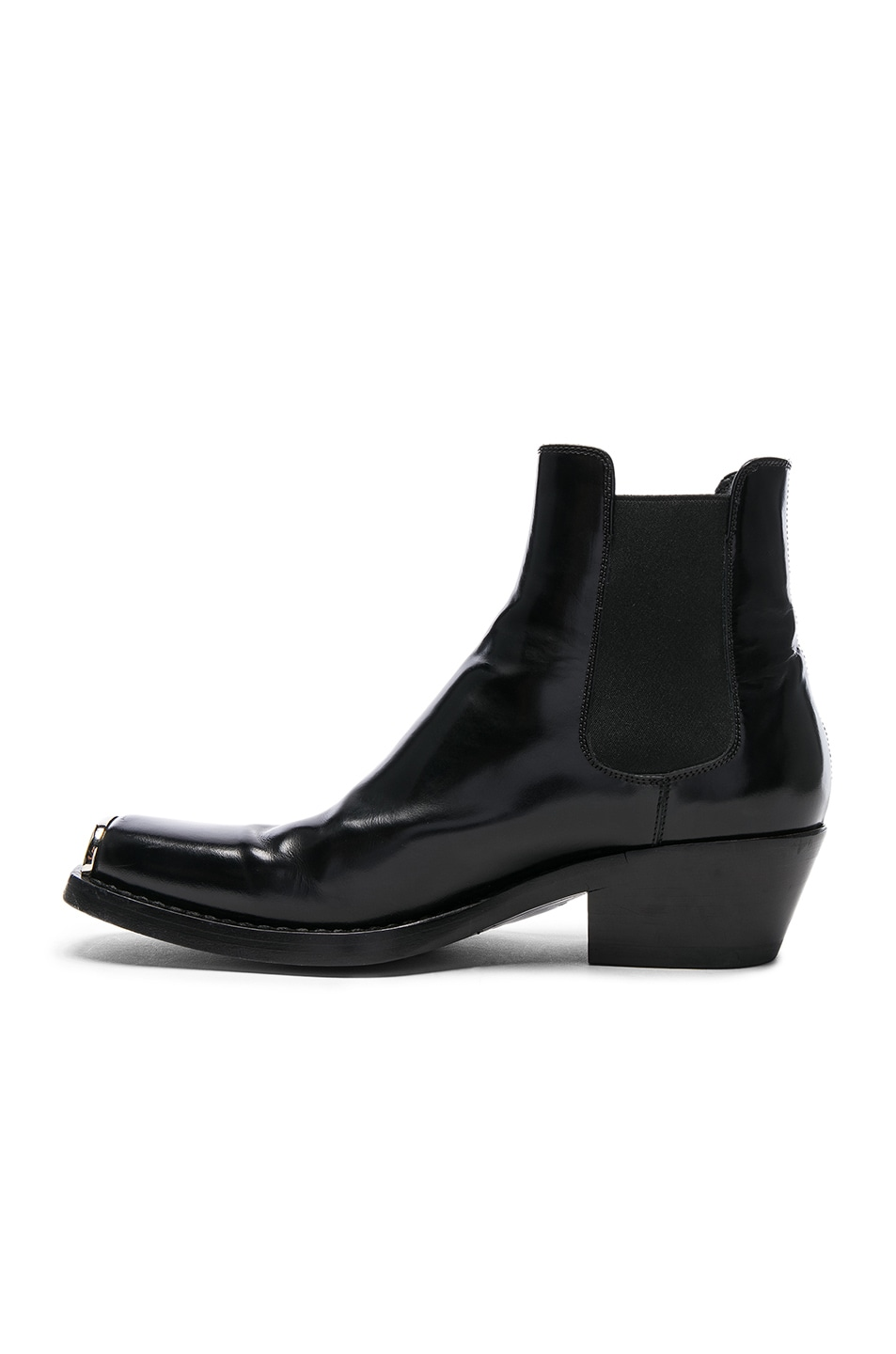 Calvin Klein Claire Leather Booties LIApHaFn