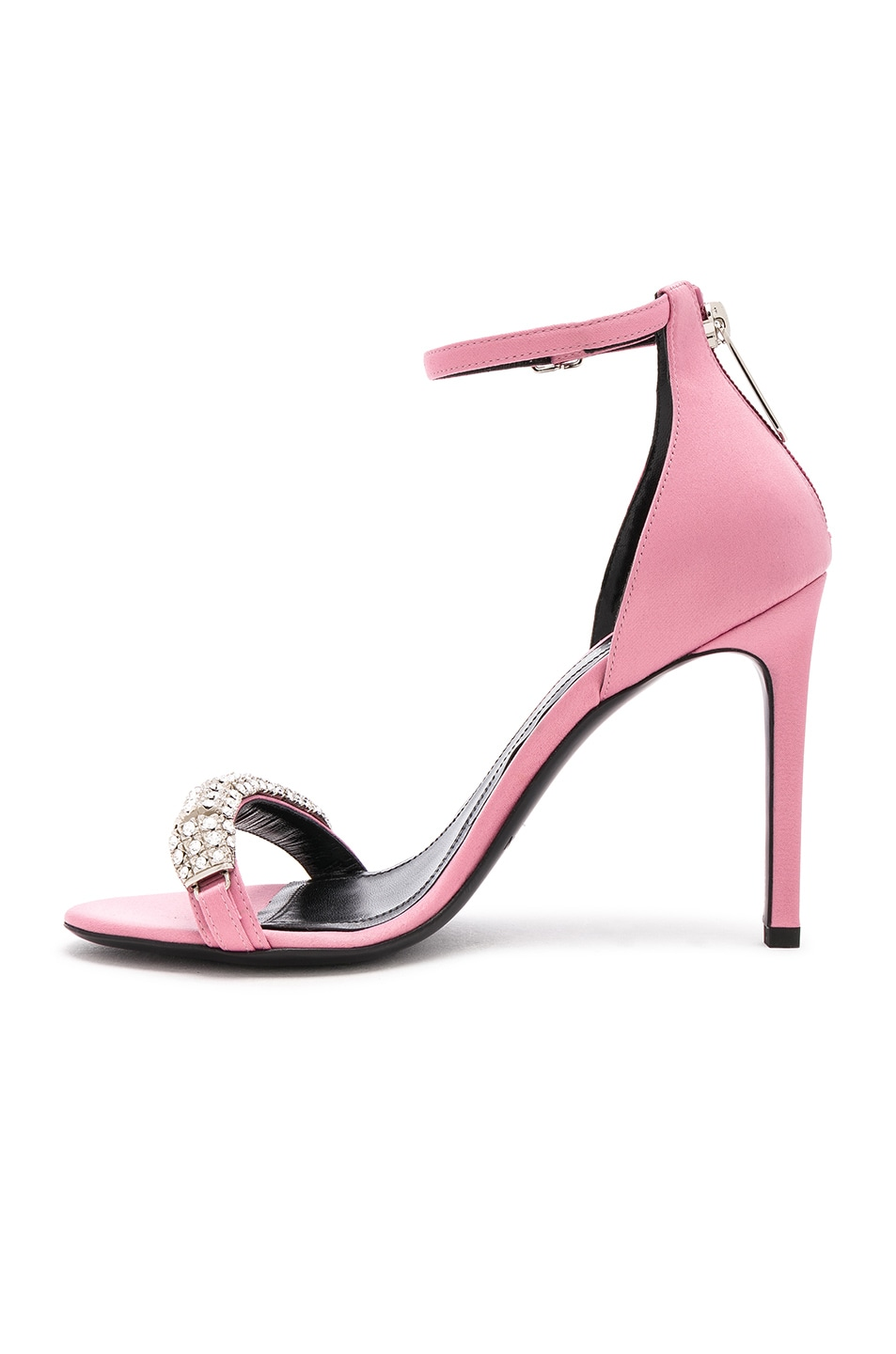 Image 5 of CALVIN KLEIN 205W39NYC Satin Camelle 501 Sandals in Rose