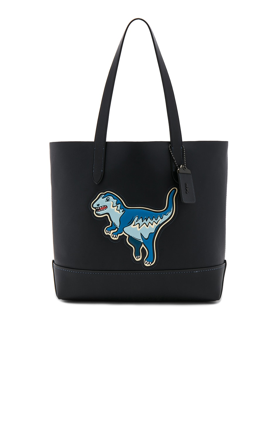 Image 1 of Coach 1941 Glove Calf Leather Rexy Gotham Tote in Navy & Black