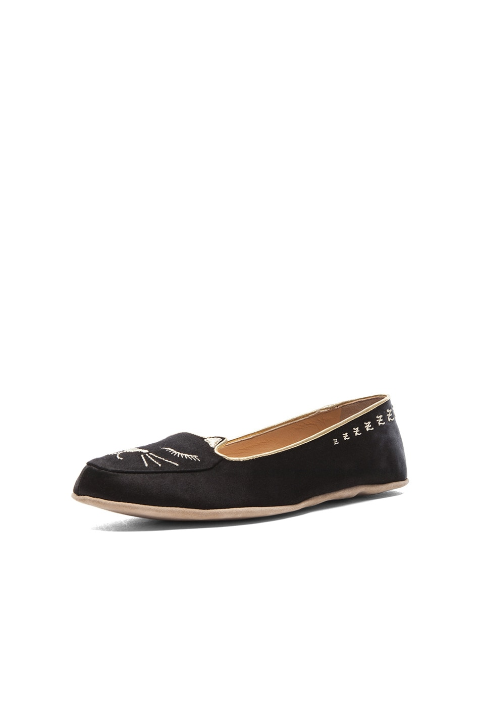 Image 2 of Charlotte Olympia Cat Nap Set in Black