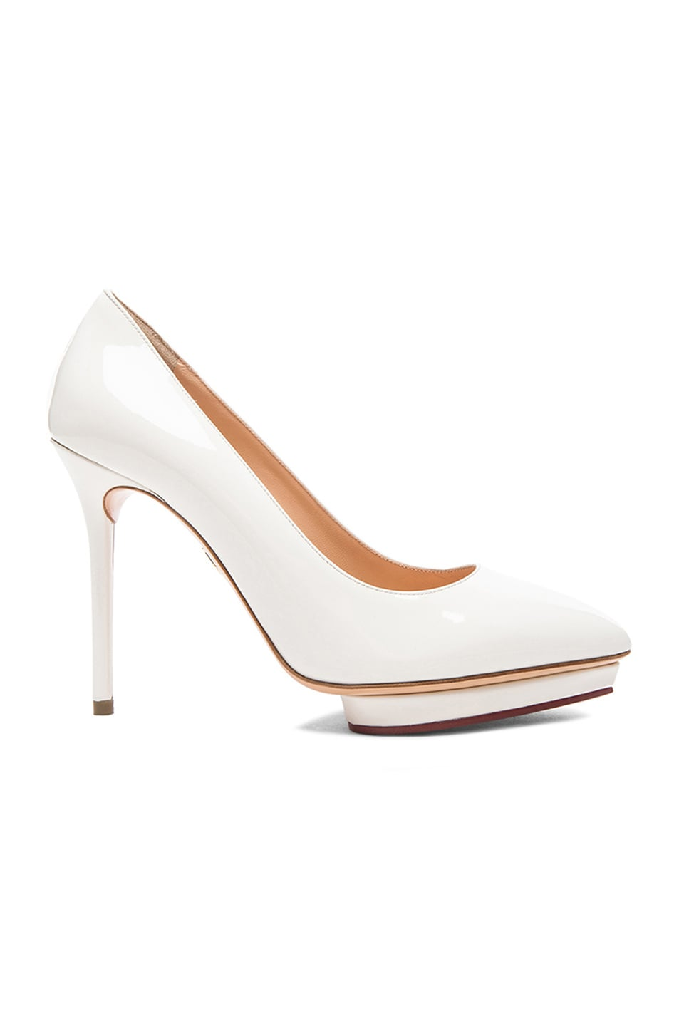Charlotte Olympia Patent Leather Heels uPV7WS2yvE