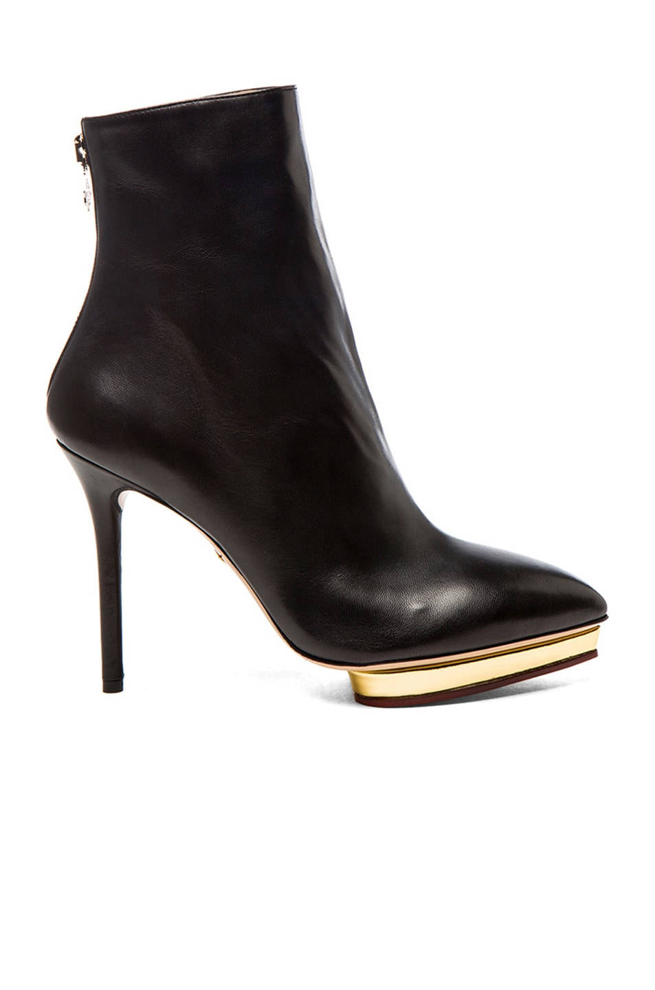 Charlotte Olympia Leather Platform Ankle Boots fashionable cheap online clearance best cheap sale countdown package clearance extremely pay with visa cheap online Et5Q6p